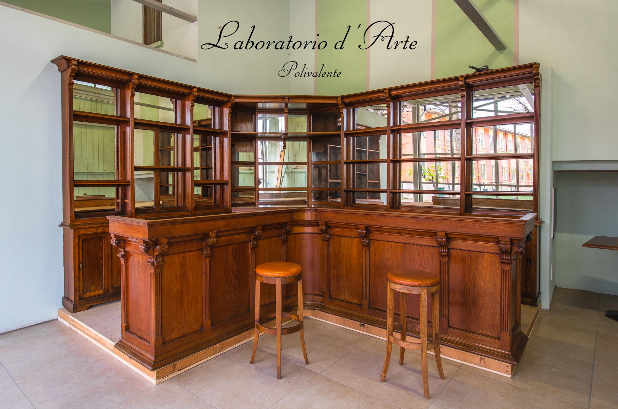 Il bar del Laboratorio d'Arte Polivalente